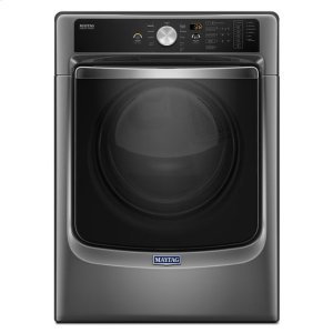 """Maytag® Large Capacity Dryer with Refresh Cycle with Steam and PowerDry System """" 7.4 cu. ft. - Metallic Slate Product Image"""