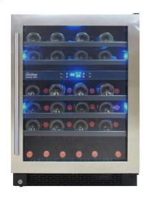 Designer Series 46-Bottle Seamless Wine Cooler