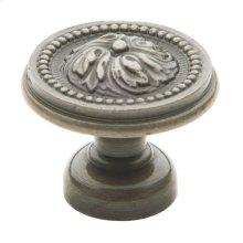 Antique Nickel Ornamental Knob
