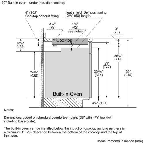 Benchmark® induction hob 36'' NITP669UC