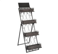 Marketplace Tiered Metal Shelves Product Image