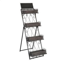 Marketplace Tiered Metal Shelves