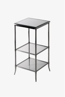 "Easton Etagere with Clear Glass 14"" x 14"" x 26"" STYLE: EAET06"