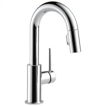 Chrome Single Handle Pull-Down Bar / Prep Faucet
