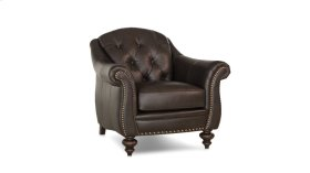 539-30 Leather Stationary Chair