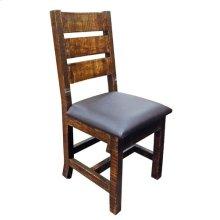 Reclaimed Padded Vinyl Chair
