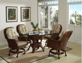 Moroccan Game Chair With Casters