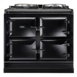 Black  Dual Control 3-Oven Natural Gas