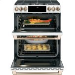 "Caf(eback) 30"" Smart Slide-In, Front-Control, Gas Double-Oven Range with Convection Photo #4"