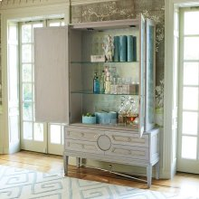 Collectors Cabinet Top-Grey-New Puck Light