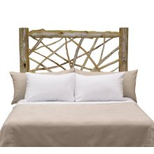 Twig Headboard - King - Natural Cedar
