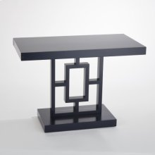 Grid Block Side Table-Ink
