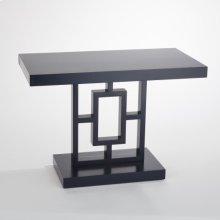 Grid Block Side Table-Ink