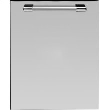 Dishwasher panel with handle Stainless steel