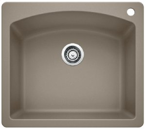 Blancodiamond Single Bowl - Truffle