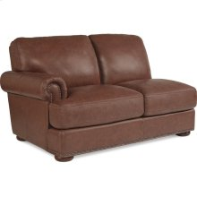 Andrew Right-Arm Sitting Loveseat w/ Brass Nail Head Trim
