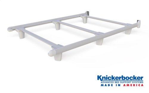 White Full EmBrace™ Bed Frame