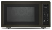 """21 3/4"""" Countertop Convection Microwave Oven with PrintShield Finish - 1000 Watt - Black Stainless"""