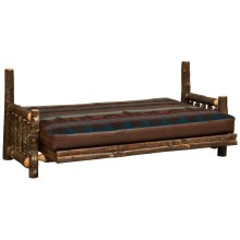 Futon - Natural Hickory
