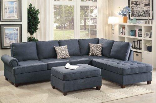 F6991 In By Poundex In Phoenix Az 2 Pcs Sectional Sofa