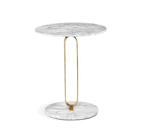Hensley Side Table - Brass