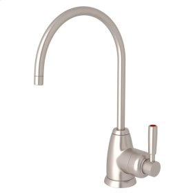 Satin Nickel Perrin & Rowe Holborn C-Spout Hot Water Faucet