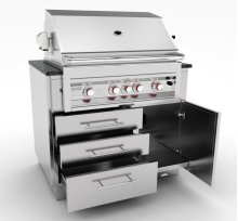 40-Inch Gas Grill Base Cabinet