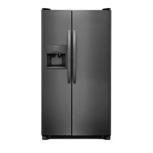 25.5 Cu. Ft. Side-by-Side Refrigerator - BLACK STAINLESS STEEL