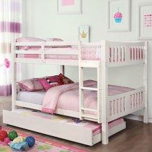 Cameron Full/full Bunk Bed, White