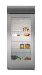 """36"""" Built-In Glass Door Refrigerator Product Image"""