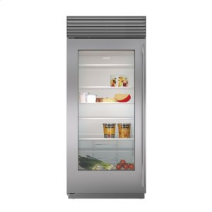 "Subzero36"" Built-In Glass Door Refrigerator"