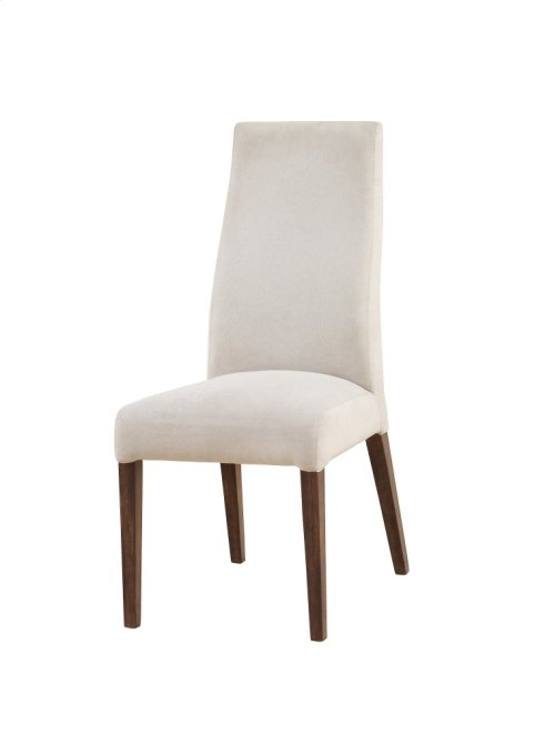 Emerald Home Sommerville Parson Side Chair W/upholstered Seat & Back Mahogany Top, Metal Legs D205-22
