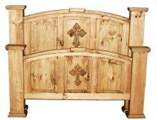 Queen Mansion Bed W/ Cross (queen)