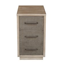 Three Drawer Acnt Chairside Chest