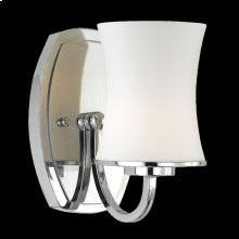 1-LIGHT WALL SCONCE - Chrome