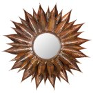 Sunflower Mirror - Burnt Copper W / Clear P / Coat Product Image