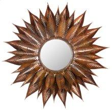 Sunflower Mirror - Burnt Copper W / Clear P / Coat