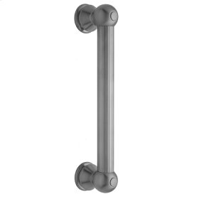 "Polished Nickel - 12"" G33 Straight Grab Bar"