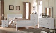 """Orleans Dresser, White 57""""x15""""x33"""" Product Image"""