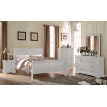 """Orleans Dresser, White 57""""x15""""x33"""""""