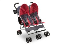 LX Side by Side Stroller - Grey \u0026 Red (026)