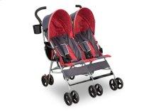 LX Side by Side Stroller - Grey \u0026 Red (026)