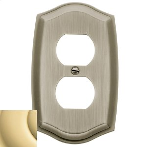 Polished Brass Colonial Duplex Product Image