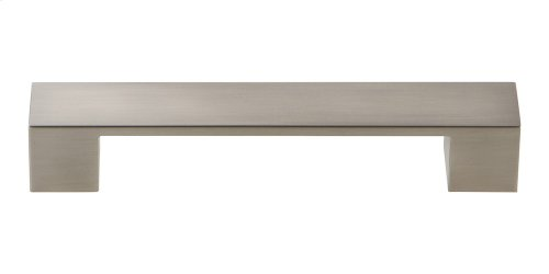 Wide Square Pull 5 1/16 Inch - Brushed Nickel