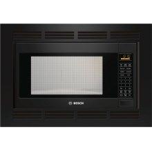 500 Series Built-In Microwave Oven 24'' Black, Door Hinge: Left
