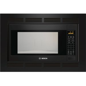 Bosch500 Series Built-In Microwave Oven 24'' Black, Door Hinge: Left