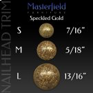 Speckled Gold Nail Head Trim Product Image