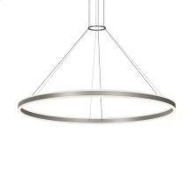 "Double Corona 60"" LED Ring Pendant"
