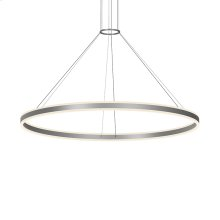 "Double Corona 60"" LED Ring Pendant"