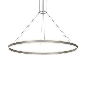"""Double Corona 60"""" LED Ring Pendant Product Image"""